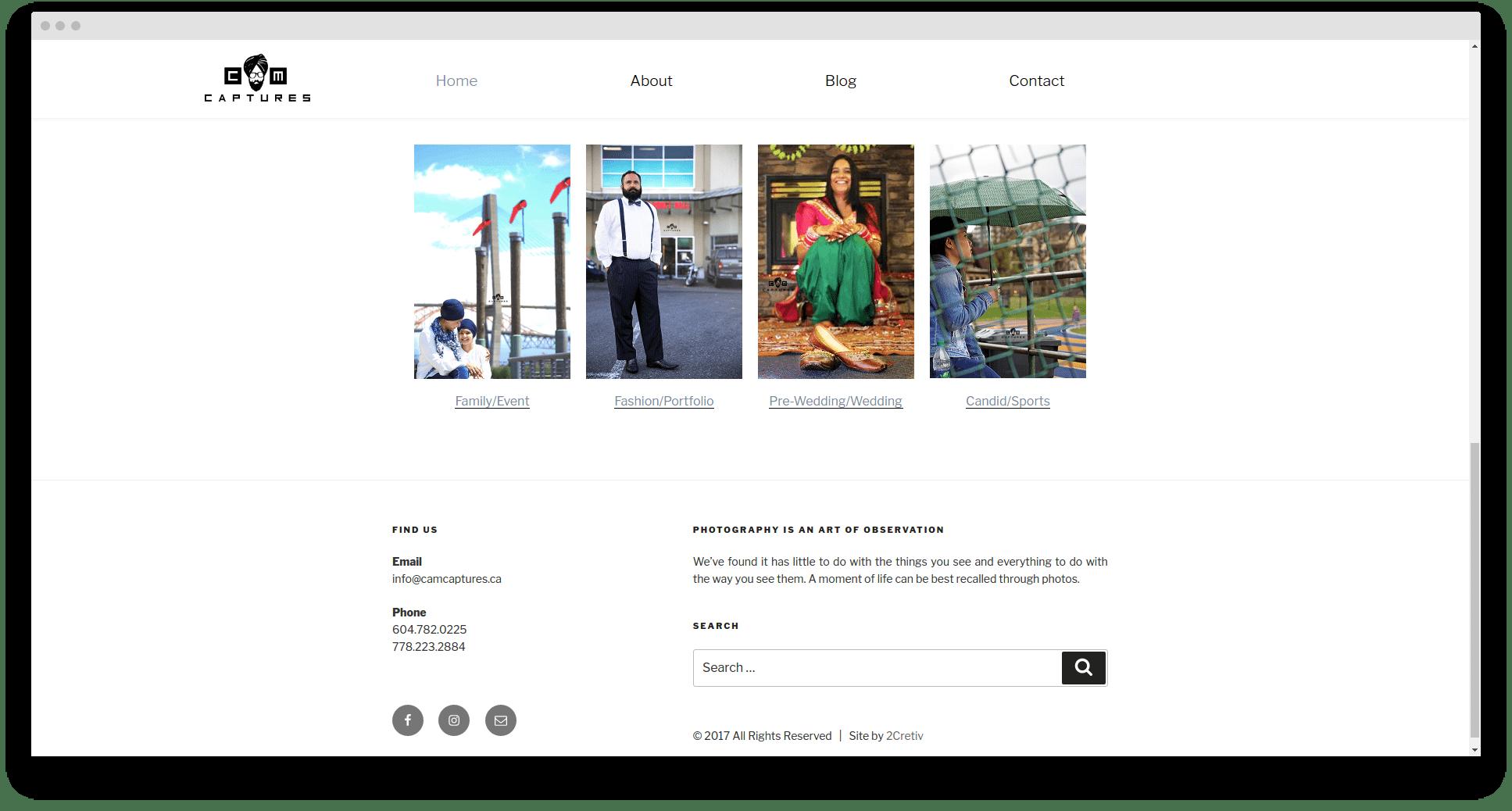 Website design in Surrey